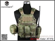 Emersongear LBT6094Aスタイルタクティカルベストと 3 ポーチエアガンミリタリー戦闘ベストAT FG EM7440G