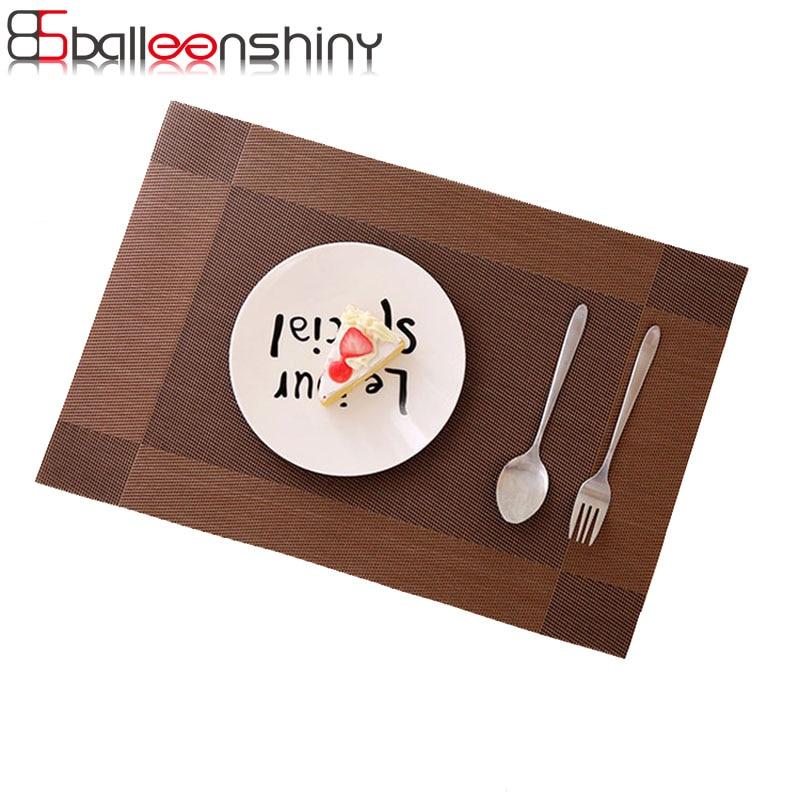 BalleenShiny Placemat पीवीसी डाइनिंग - रसोई, भोजन कक्ष और बार