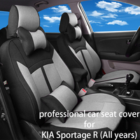 Legua Car Seat Cover Set for KIA Sportage R (All years) Water proof Interior Accessories Car Seat Protector Soft Mat for Auto