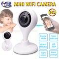 Mini Câmera IP Wifi Cctv Segurança Home Sem Fio Da Câmera Telecamara P2P 720 P Pan Tilt Zoom de 2 Vias De Áudio Remoto Smartphones câmera