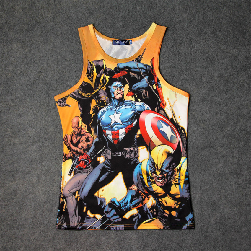Hot Superhero  Tank Tops