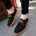 Men Oxford Shoes 2017 sping/autumn New Suede Genuine Leather Men's Flat  suede dress shoes men oxford shoes man flat shoes