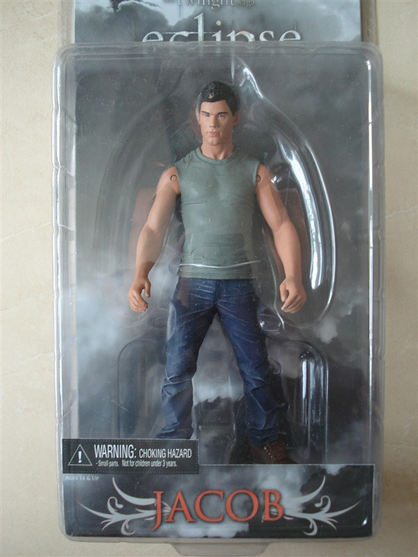 Free Shipping High Quality Hot ! The Twilight Saga Eclipse Wolfman JACOB 18cm PVC Figure New In Box