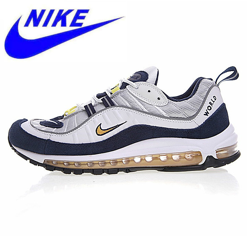 33e8be6892b5 Original New Arrival Nike Air Max 98 Retro Full Palm Cushion Men Running  Shoes