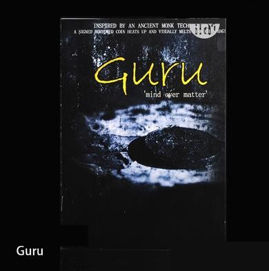 Guru (mind over matter) By Jay C - Mentalism Magic, Magic Trick ,Mind Props,Magia Toys,Joke,Classic Magie