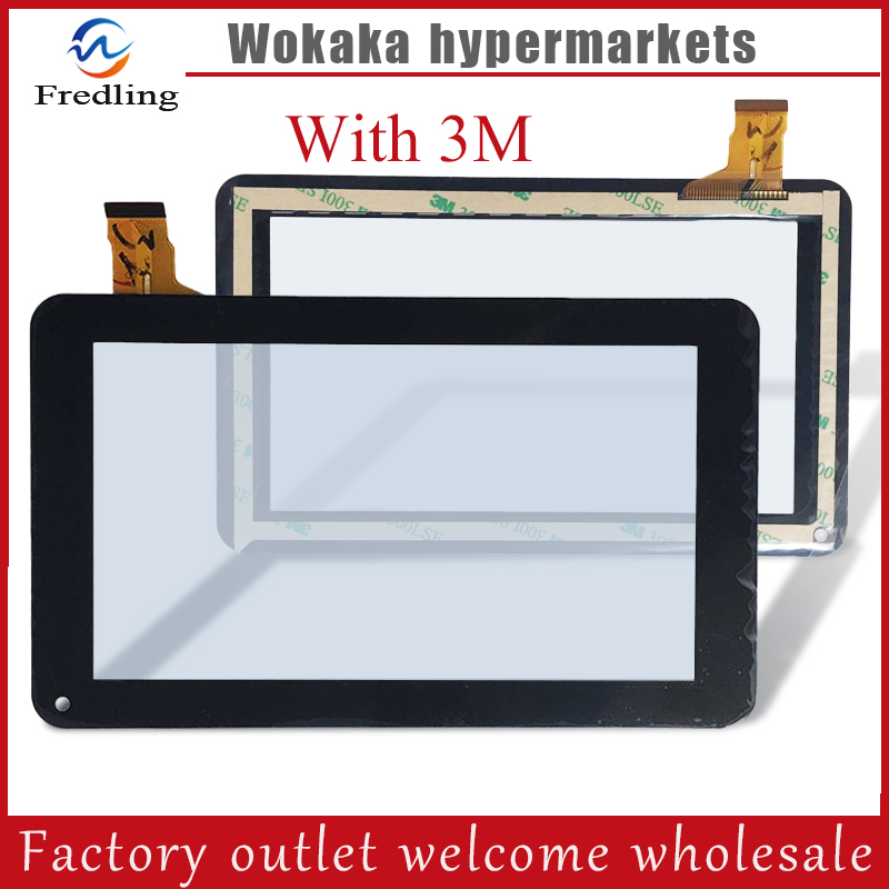 New Touch Screen Panel Digitizer Glass Sensor Replacement For 7 Tesla Magnet 7.0 IPS Tablet SL-003 Y7Y007(86V) ZHC-059B new for 7 alcatel one touch pixi7 l216x i216x 1216x ot1216 1216 tablet touch screen digitizer glass panel sensor replacement