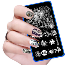 1PC Halloween DIY Nail Art Image Stamp Stamping Plates Manicure Template Aug 25