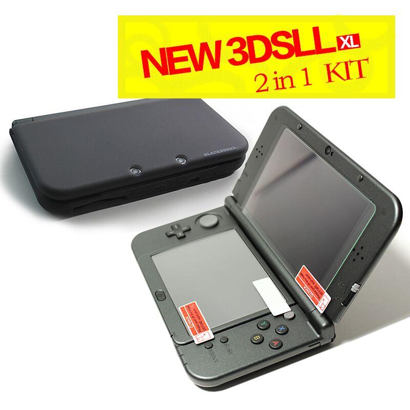 �9h��ll_Gameaccessories0.3mm9HTopGlassScreenProtectorAntiFilm+Siliconecase(black