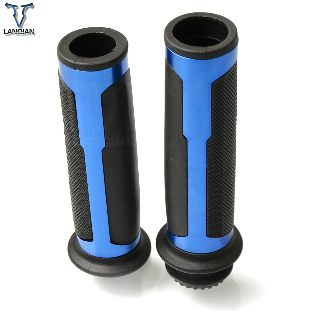 Image 4 - Universal Motorcycle Handlebar Hand Grips for KTM AJP PR4 04 09 AJP PR5 250 09 12 SUZUKI GSXR600 GSXR750 08 14 AN250 AN400 AN650-in Grips from Automobiles & Motorcycles