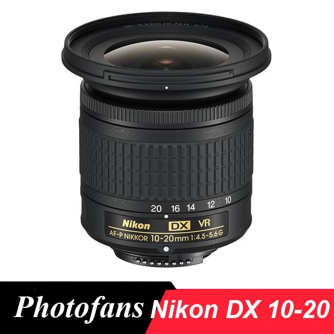 Nikon AF-P DX NIKKOR 10-20mm F/4.5-5.6G VR Lens For Nikon D7500, D5600, D5500, D5300, D3500,D3400, D3300, D500