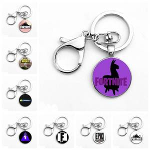 saiz Toy Gift Game Fortnite Keychain Metal Time Pendant