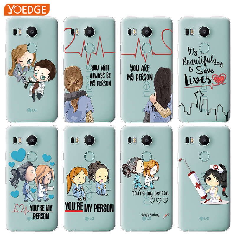 Silicone Phone Shell Case Famous Cartoon Greys Anatomy Poster Collage For Lg G7 Q6 Q7 Q8 Q9 V30 X Power 2 3 For Oneplus 3t 5t 6t Cheap Sales 50% Cellphones & Telecommunications