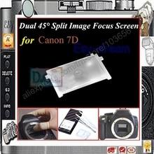 Çift 45 derece Bölünmüş Görüntü Odak Odaklama Ekranı Canon 7D PR123