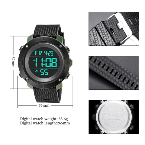 Kak Smart Watches Hot Men High-End Sports Watch Digital Led Electronic Sport Watches For Men Smartwatch Lahore