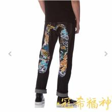 2019 Authentic Evisu New Top Quality Fashion Casual Hip Hop Mens Jeans Embroidery Printing Breathable Straight Pants
