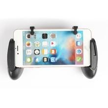 زوج واحد من عصا الألعاب لإطلاق النار مع عصا تحكم للهاتف المحمول PUBG L1R1 وحدة تحكم في الإطلاق لوحة ألعاب للهاتف المحمول لهاتف iPhone شاومي
