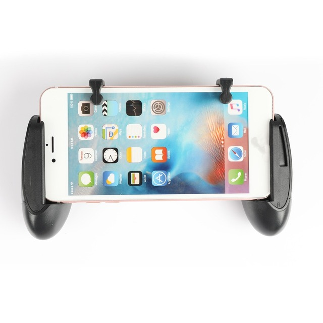 1 paar Gaming Trigger Fire Knop Met Mobiele Joysticks PUBG L1R1 Shooter Controller Mobiele Gamepad Voor iPhone Xiaomi