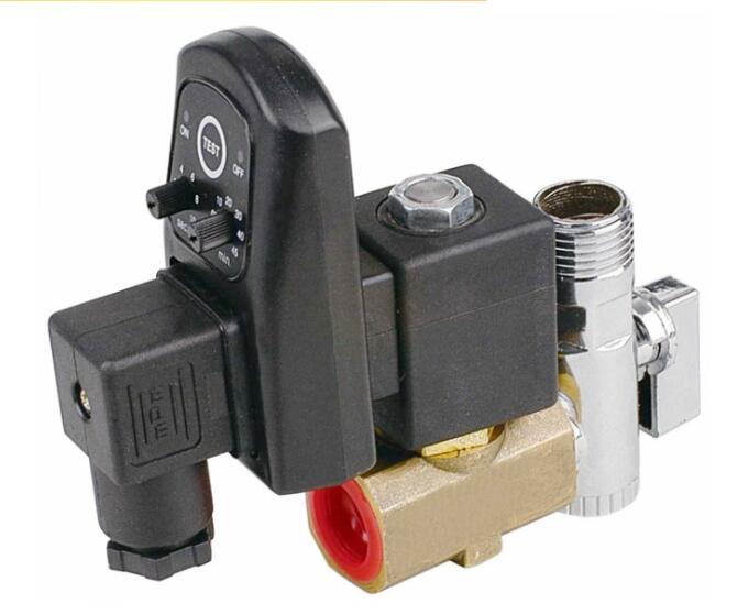 1/2 Electronic Drain Valve water solenoid valve timer solenoid valve timer solenoid drain valves electronic timer 24v 240v quartz enclosed electrotimer drain valve