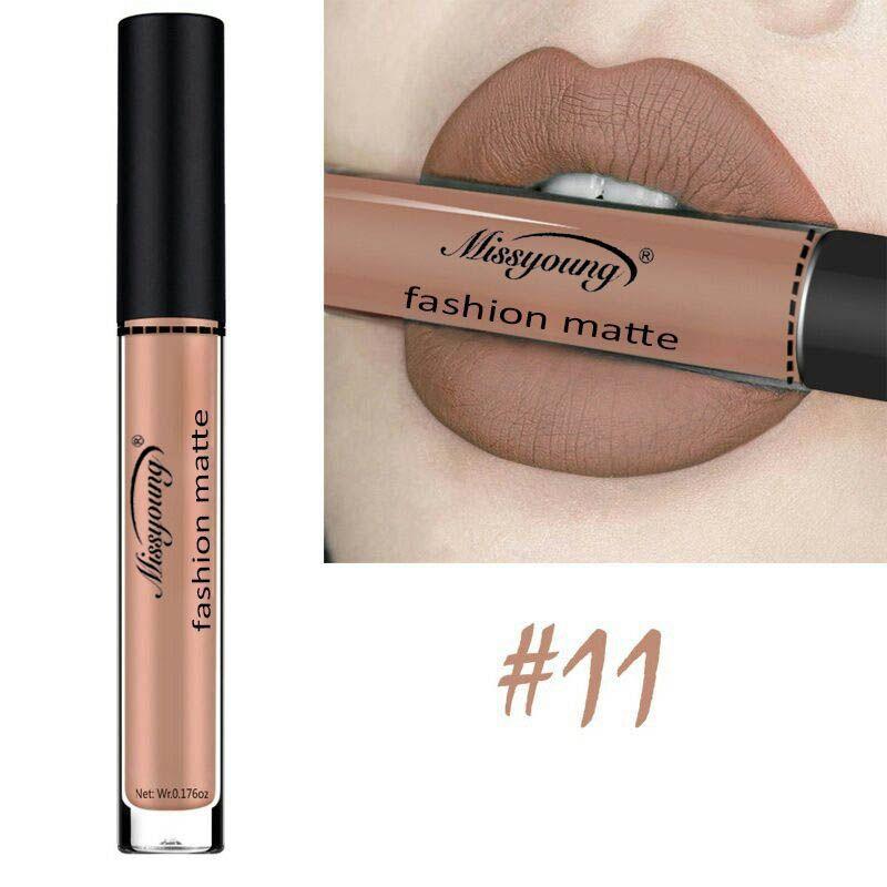 18 Colors Matte Liquid Lip Gloss Matte Lipstick Long Lasting Waterproof Makeup Women Beauty Cosmetics 8