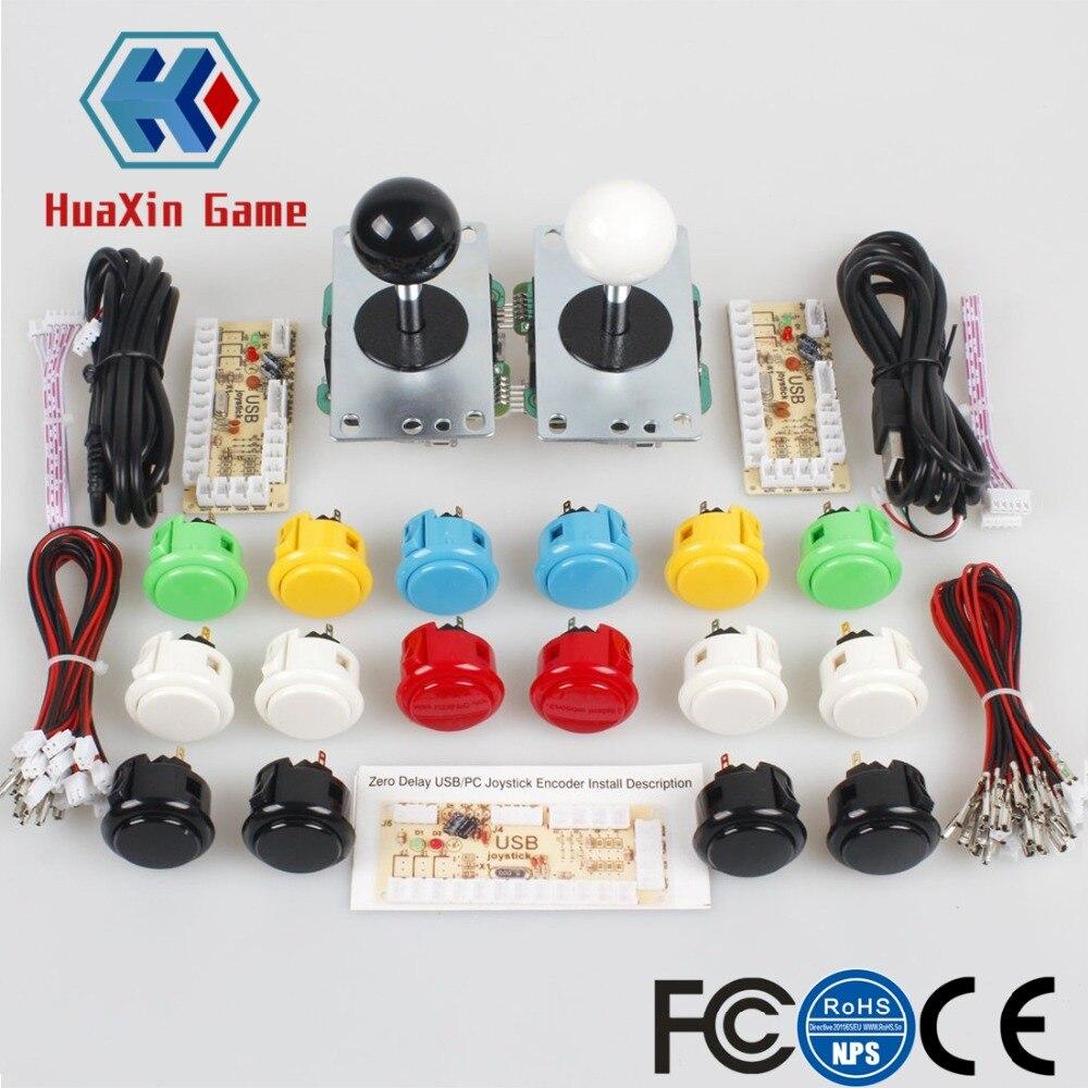 Classico 2 Lettore Sanwa Arcade Video Giochi Kit FAI DA TE Fascio per PC Joystick & Raspberry Pi RetroPie Progetti FAI DA TE & mame Jamma Parti