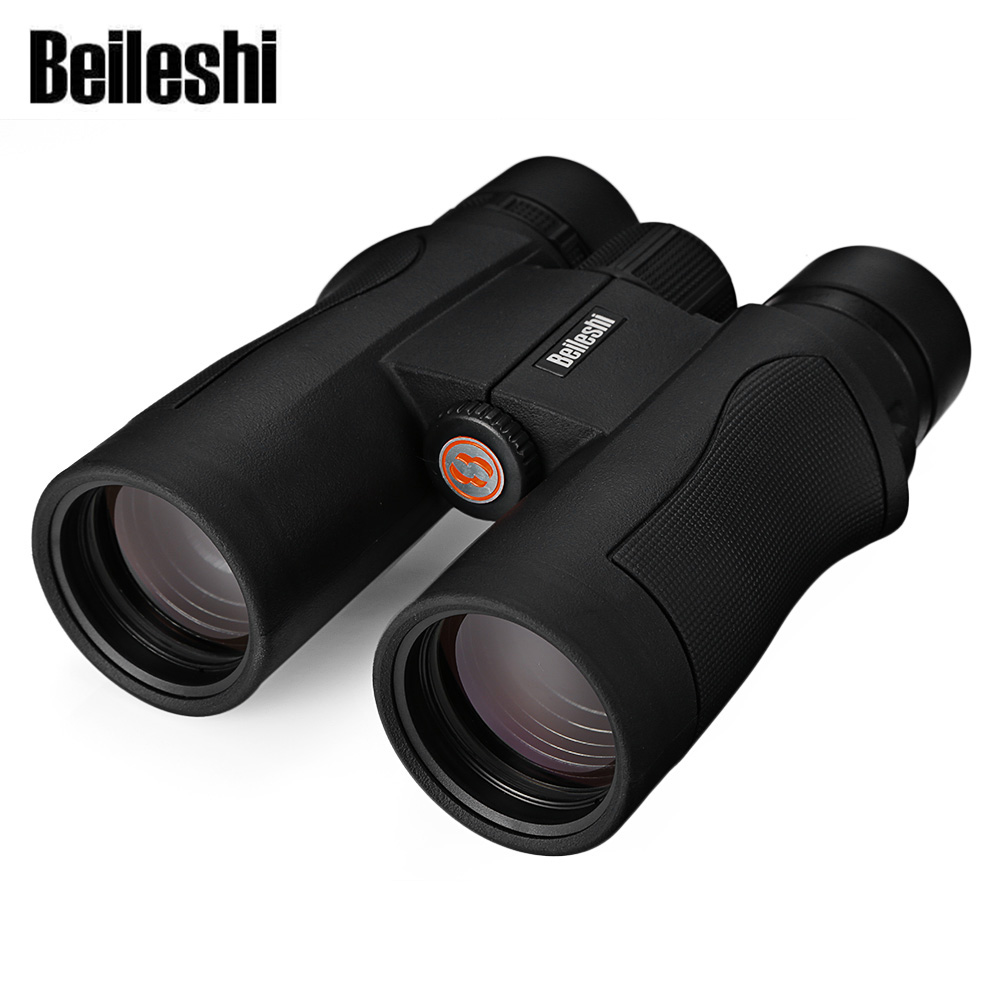 Beileshi 53 10X42 98M 1000M HD Vision Wide angle Prism Binocular Outdoor Folding Telescope