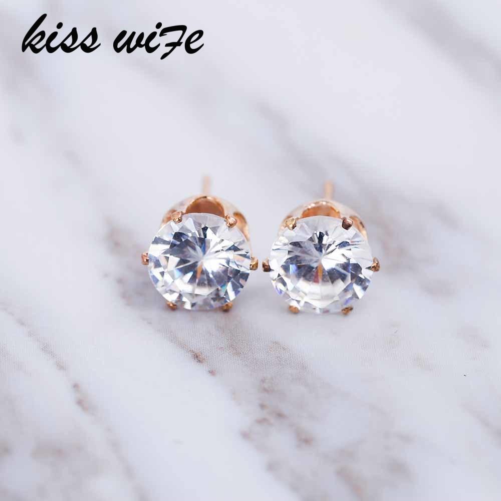 Поцелуй жена 2017 Люксовый Бренд ювелирных кристаллов серьги для женщин Fit женские серьги для подарок девушке