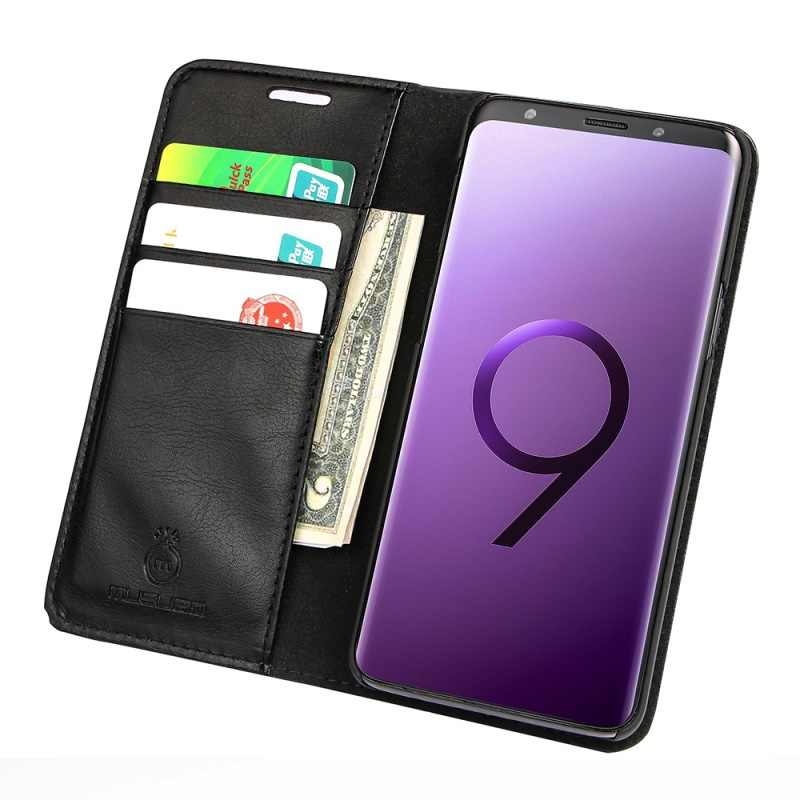 Musubo Cao Cấp Dành Cho Samsung Galaxy S10e S10 + Plus S10 Bao Da Dành Cho S9 + Plus S8 Note9 note 8 Đứng Coque Capa Funda