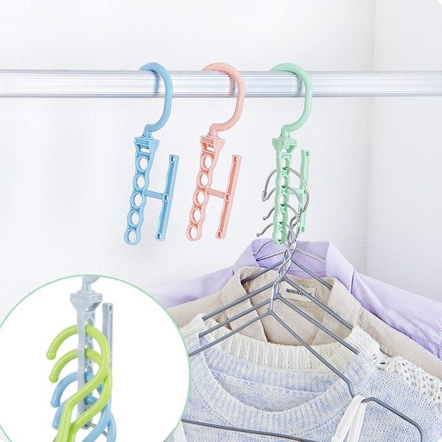 5 Lỗ Nhựa Sấy Giặt Móc Treo Quần Áo Giá Đỡ Giá Phơi quần áo Đa Năng Phòng Tắm Đóng Móc Quần Áo Giá Đựng Đồ