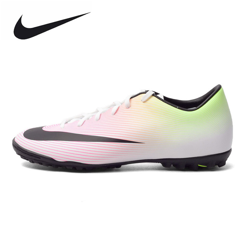 NIKE MERCURIAL VICTORY V TF Men's Light Comfortable Soccer Shoes Original New Arrival Football Sneakers 651646107 original new arrival nike mercurial victory v tf men s soccer shoes football sneakers