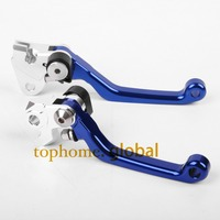 New One Pair Top Quality CNC Pivot Brake Clutch Levers Set For YAMAHA YZ250F 2001 2006