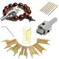 16Pcs Carbide Ball Blade Drill Bits Woodworking Molding Tools 14 15 16 18 20 22 25mm