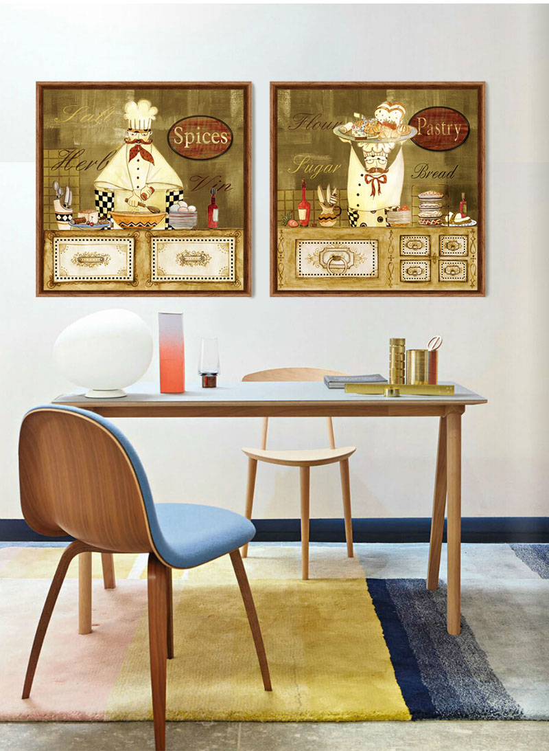 Cartoon Humorous Chef Canvas Art Print Painting Kitchen Cafe Decorative Pictures Cheap Modern Paintings Tableau Decoration Mural Tableau Decoration Murale Paintings Kitchendecorative Pictures Aliexpress
