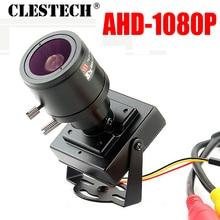 2.8mm-12mm Zoom Focusing Full AHD CCTV Mini Camera 720P/960P/1920*1080P HD Digital 2.0MP Small micro metal Surveillance Vidicon