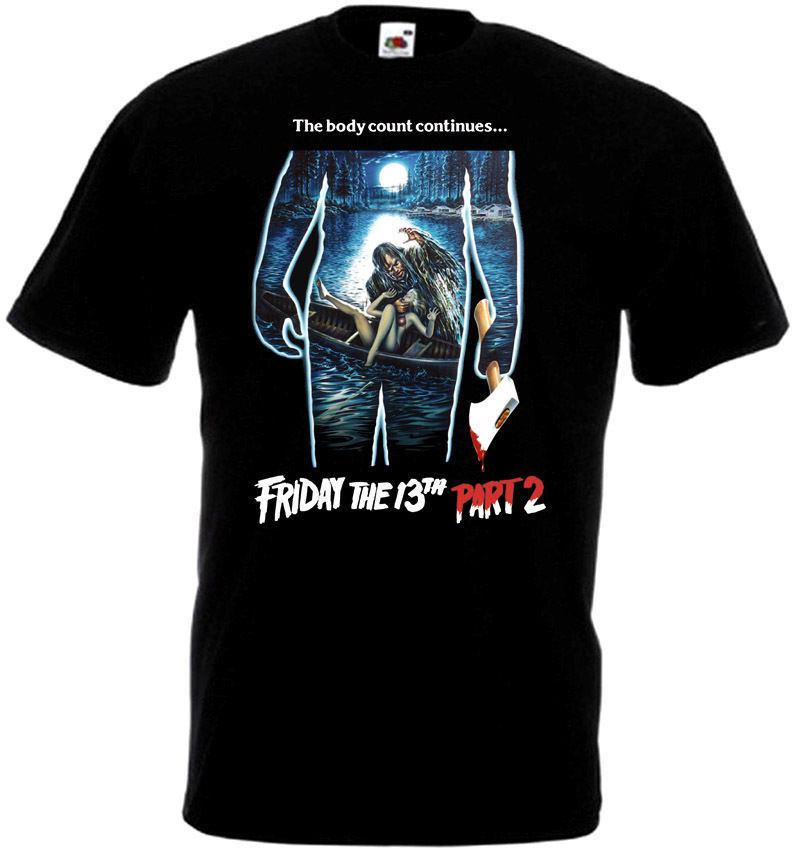 New Brand-Clothing T Shirts Crew Neck Short Sleeve Best Friend Mens Friday The 13 V25 T-Shirt All Sizes Sizes S To 3XL Black