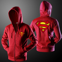 Fashion Brand Superman Hoodie Sweatshirts Brand Clothing Street Style 3D Hoodie Jackets Men Women Casual Hoodies Cardigan B1605