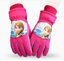 GLV869 children winter font b gloves b font Korea cycling font b gloves b font