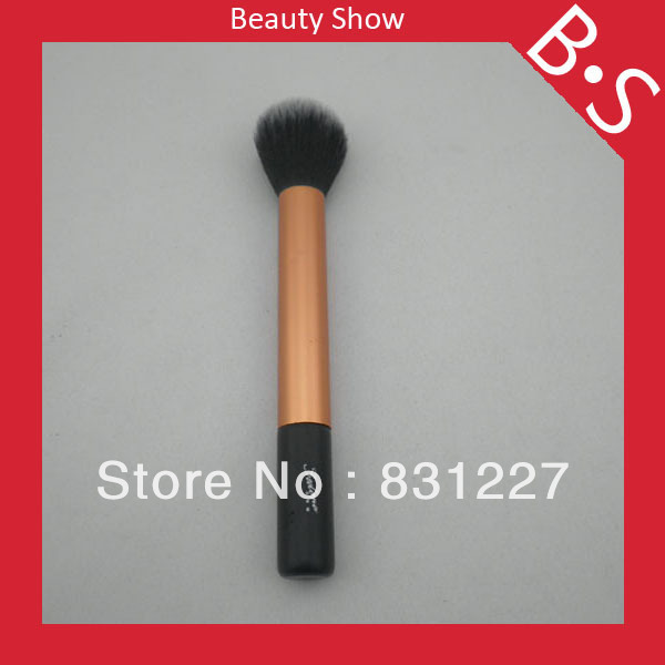 Professional Nylon Powder Makeup Brush,Golden Yellow Powder Makeup/Cosmetic Brush