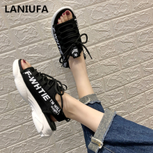 Summer flats women Sandals women Casual Platform Gladiator Beach Sandals shoes women Breathable walking Sandals women mujer #984