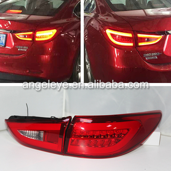 For MAZDA 6 ATENZA LED Tail Lamp Red Color 2013-2015 year BW