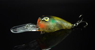Balıkçılık Uzun Atış Glow Lure Krank Bait 95mm 11g Derin - Balık Tutma - Fotoğraf 3