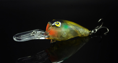 Fishing Long Shot Glow Lure Crank Bait 95mm 11g Deep Dive Plate - Pesca - Fotografia 3