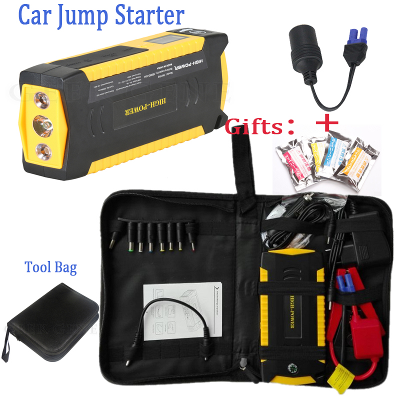2017 Mini Emergency Car Jump Starter Portable 12V Car Styling Starting Device Diesel Charger For Car