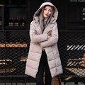 Mais grosso de algodão acolchoado jaqueta tamanho grande casaco de inverno mulheres longo fino parkas para mulheres inverno mulheres roupas de inverno TT231