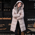 Thicker cotton-padded jacket large size Winter coat women long slim parkas for women winter women winter clothing TT231