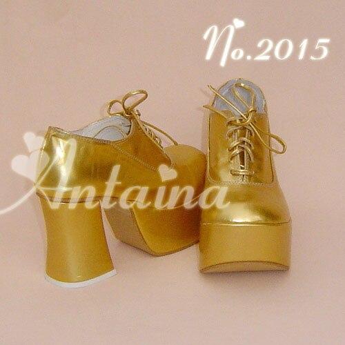 ФОТО Princess sweet lolita gothic lolita shoes  lolita bridesmaid shoes queen 2015 high-heeled shoes gold