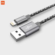 Original Xiaomi Kabel für iPhone Schnelle Lade Datenkabel für iPhone X XS MAX 8 7 6 6S 5 iPad mini USB Ladegerät Draht kabel