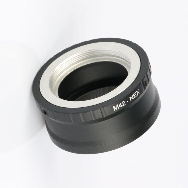 10 piezas anillo adaptador M42-NEX para M42 lente Sony NEX E montaje cuerpo NEX3 NEX5 NEX5N NEX7 NEX-C3 NEX-F3 NEX-5R NEX6 PRR04