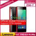 "Original lenovo vibe shot z90 7 global oficial firmware 4g lte Telefone celular Octa-core Android 6.0 Dual SIM 5.0 ""tela FHD 3G RAM 16MP"