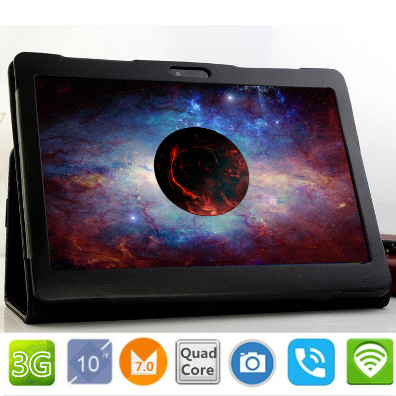 10.1 inch original 3G Phone Call Google Android 7.0 Quad Core IPS pc Tablet WiFi PCS 9 10 Bluetooth, GPS ,android tablet pc in stock teclast x70r 7 ips screen android 5 1sofia x3 c3230 64 bits 8gb 3g phone tablet wcdma tablet pcs with gps bluetooth