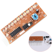 NE555 CD4017 Light Water Flowing Light LED Module DIY Electronic Marquee Light DIY Kit White Running Flow LED Electronic DIY Kit